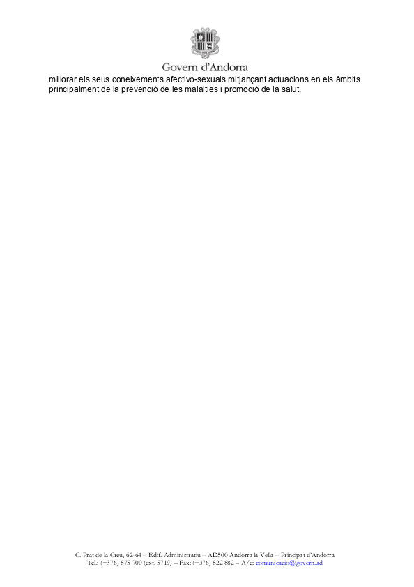 comunicat referent a la revisió, per part del Ministeri de Salut, de les condicions de dispensació dels dos medicaments que existeixen actualment a les farmàcia indicats con a anticonceptius d'urgència, página 2