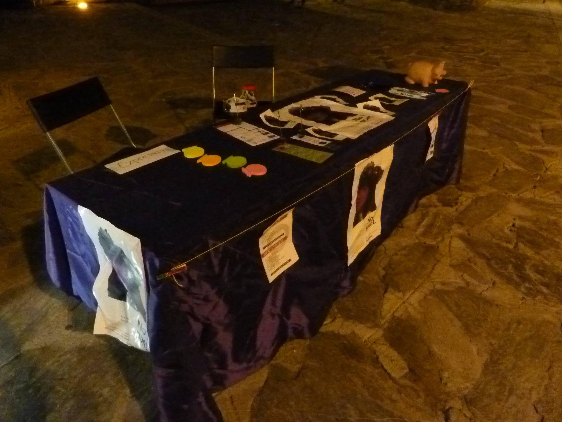 Agressió a Stop Violèncias patida durant el Roser d'Ordino