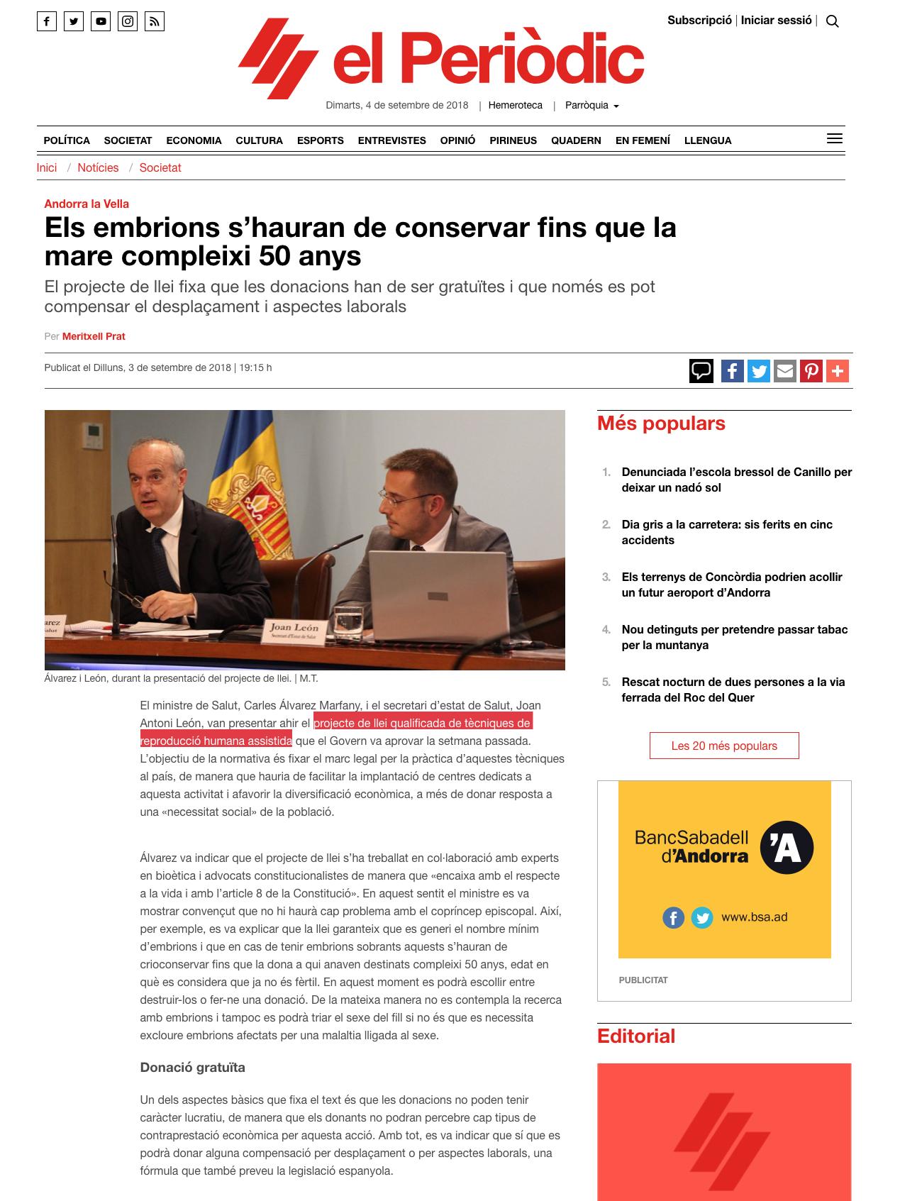 El Periodico d'Andorra